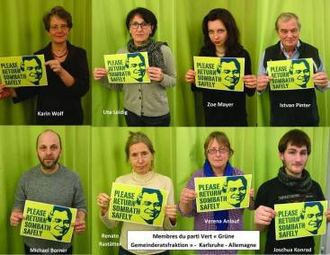 Karlsruhe-Members of Green Party-2017