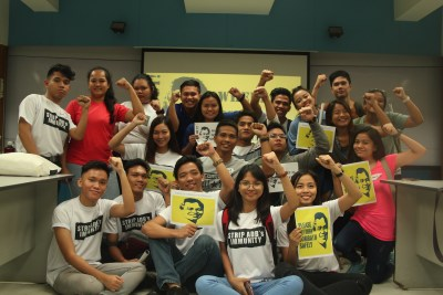 Manila-Youth leaders at UP-Polytechnic-2017