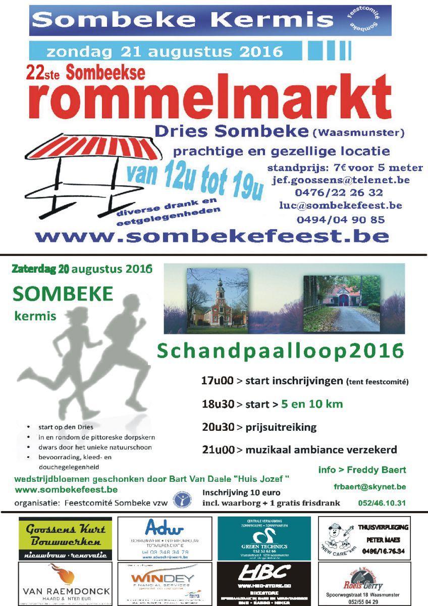rommelmarkt (zondag 21 augustus).