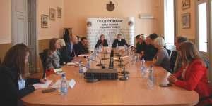 Састанак градоначелнице Сомбора и председнице СКГО са стручном службом ове организације