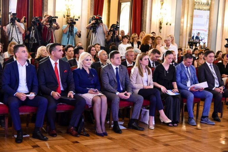 Градоначеница Душанка Голубовић на додели признања ШАМПИОН ЛОКАЛНОГ РАЗВОЈА