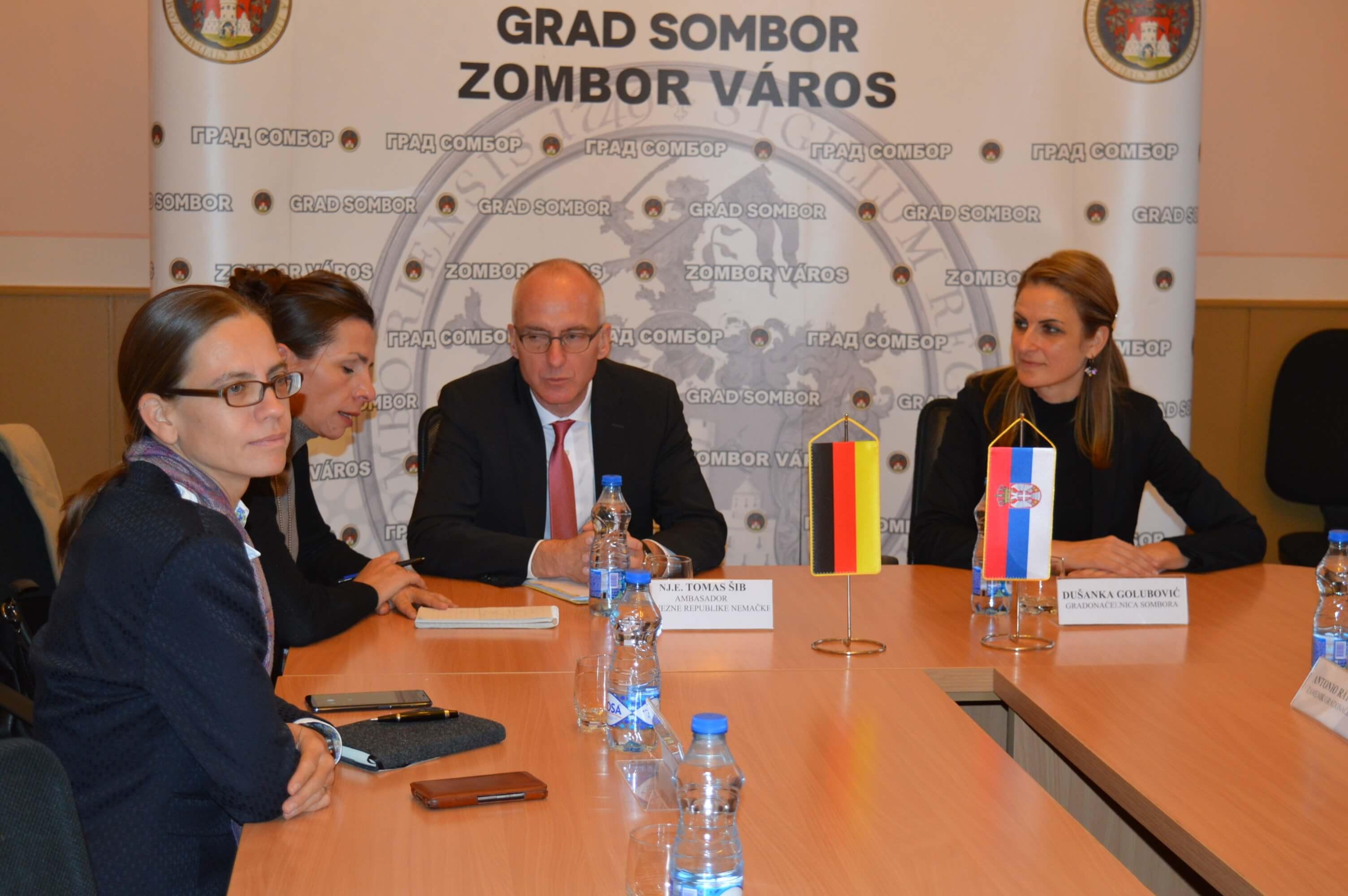 Први секретар амбасаде Руске Федерације у Србији Николај Помилујко