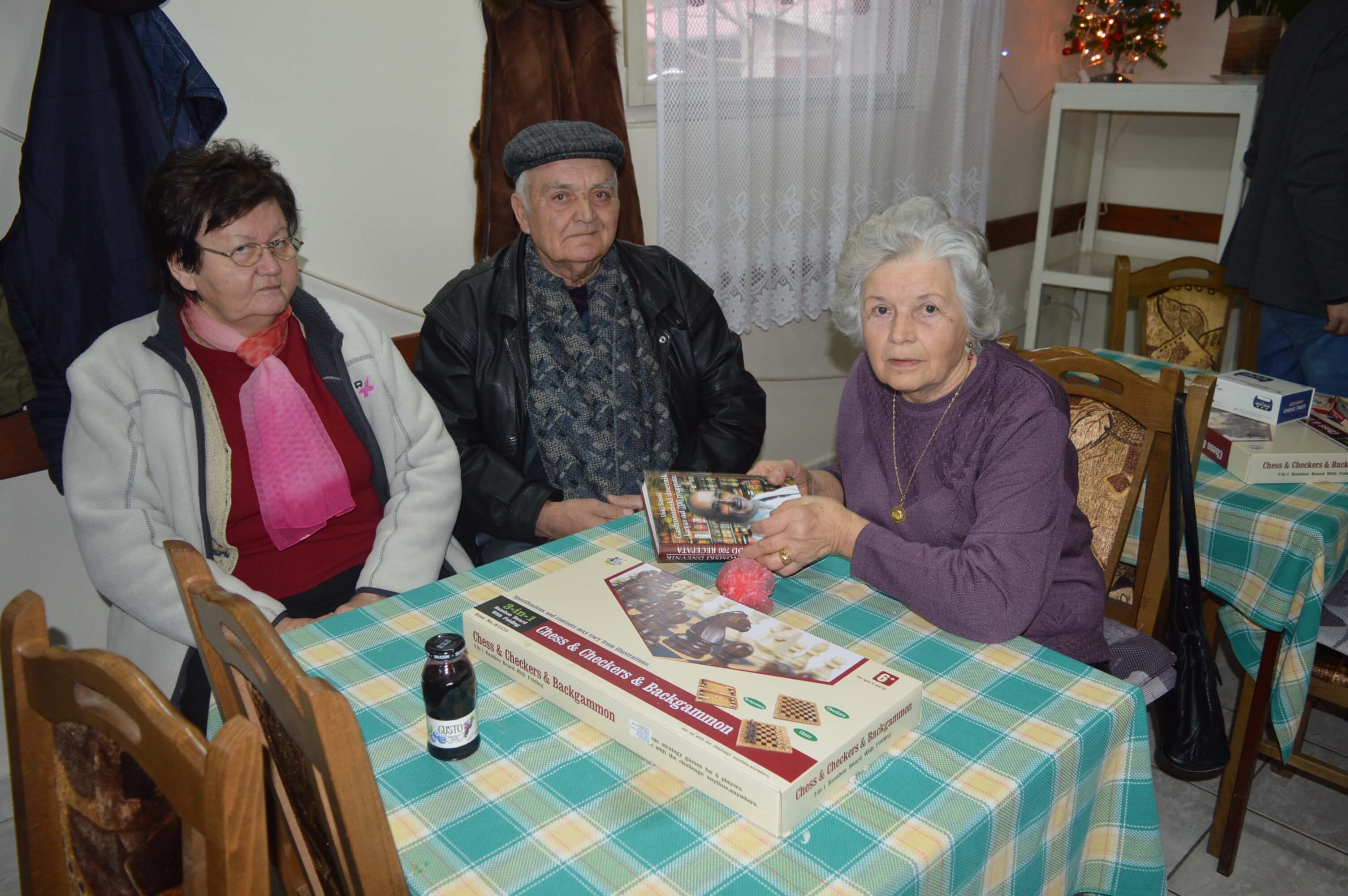 Чланови Клуба пензионера Бездан