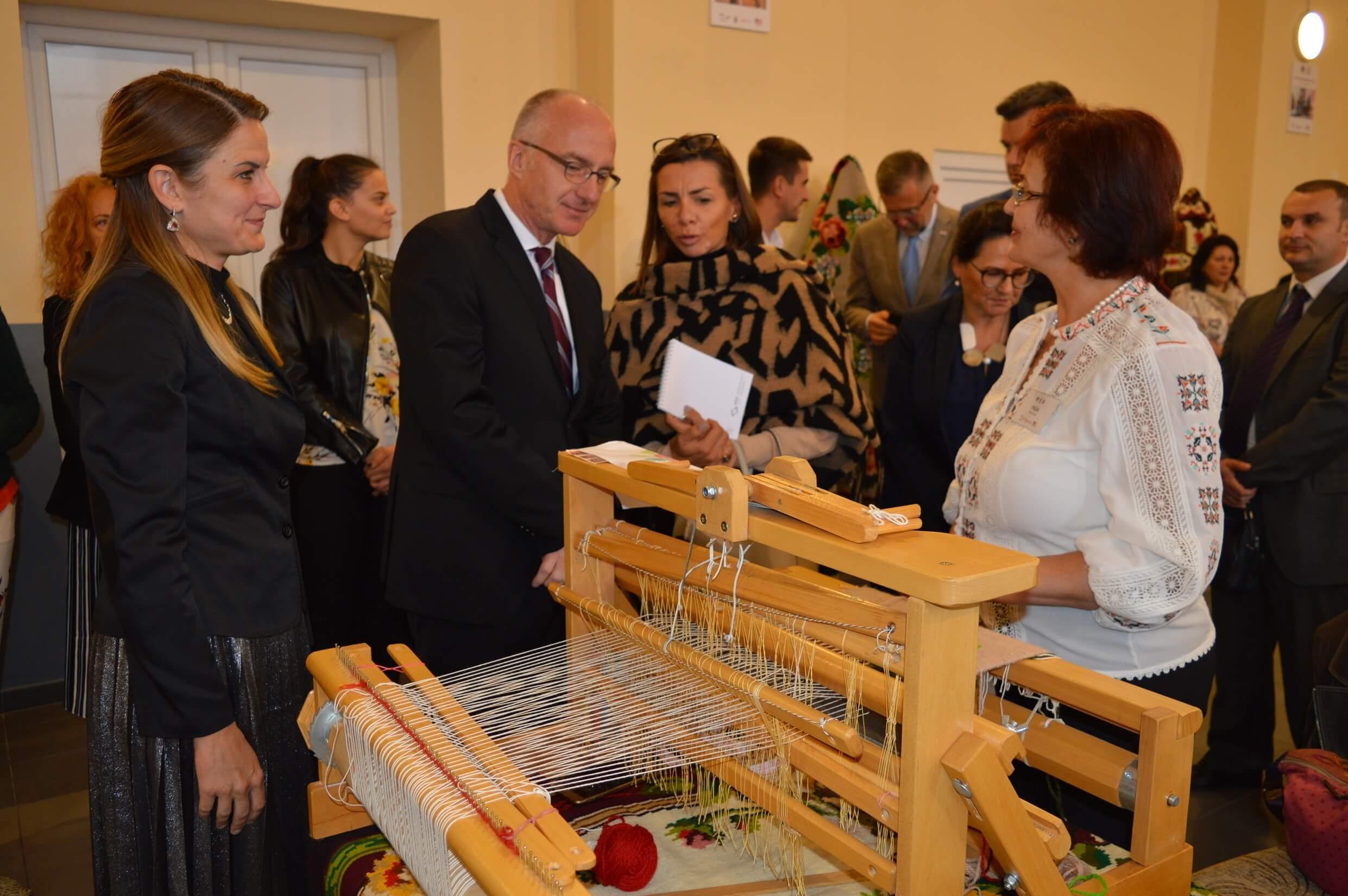 Немачка Амбасада је овогодишњи покровитељ Ткачке колоније у Стапару