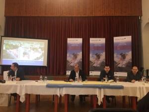 Испред града Сомбора на завршној конференцији учествовали су координатор за ЕУ пројекте града Сомбора Саша Бошњак, пројектни менаџер на овом пројекту Бранислав Сворцан и помоћник градоначелнице Атила Прибила