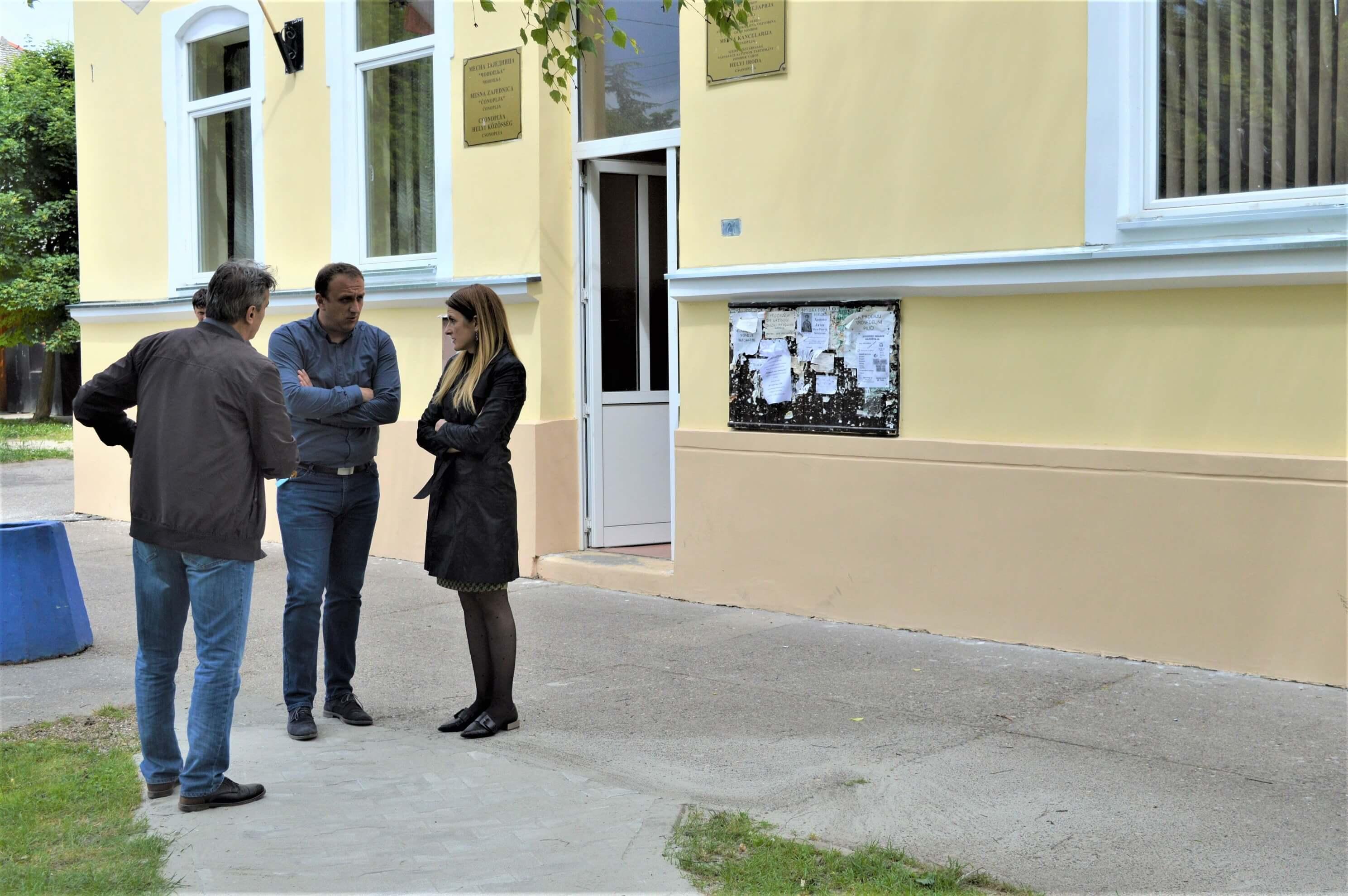 Градоначелница Душанка Голубовић поручила да Град Сомбор намерава да уреди центар у сваком селу