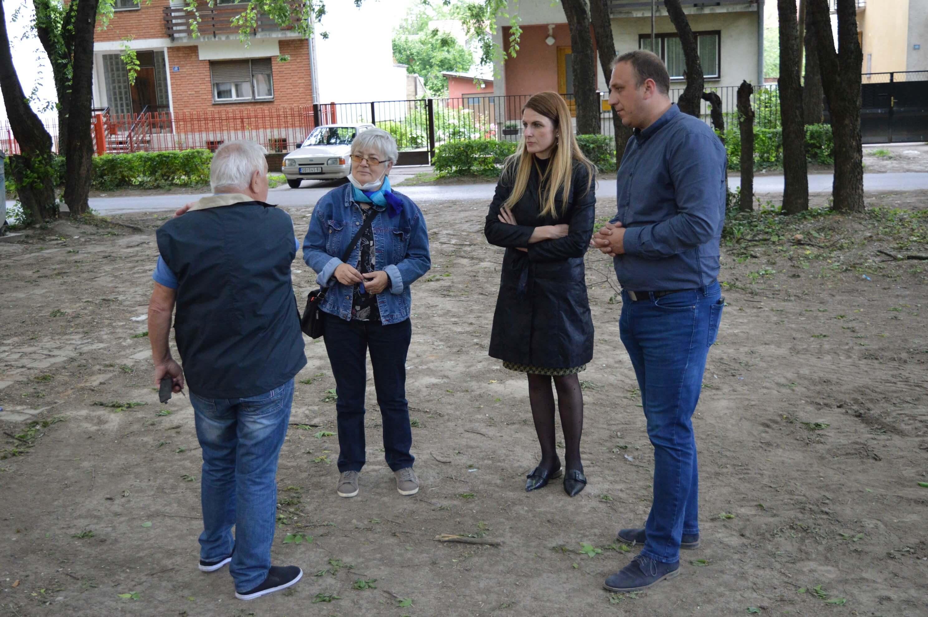 Иницијатива за нова игралишта потекла је од бројних грађана