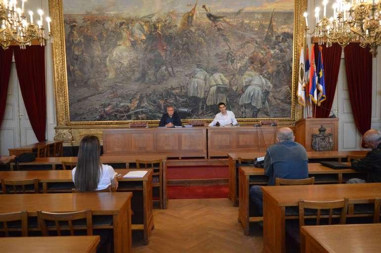 Члан Градског већа Сава Дојић и градоначелник Антонио Ратковић