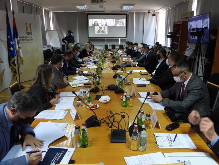 Трећа седница Сталне конференције градова и општина