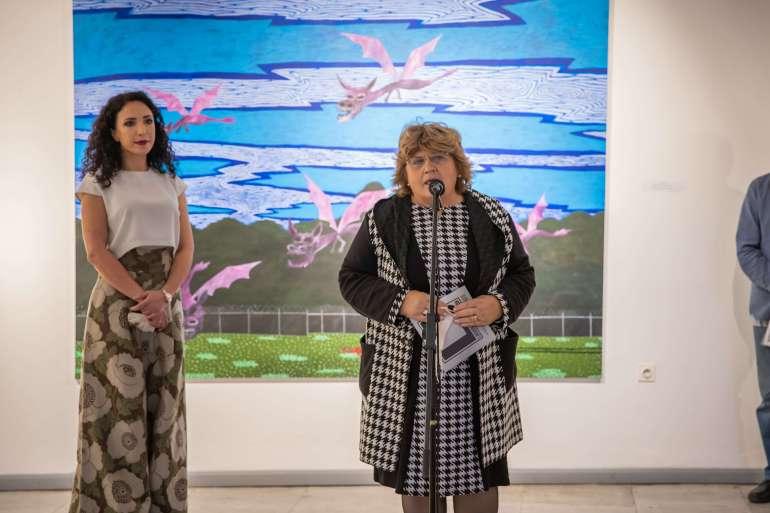 Изложбу је отворила заменица градоначелника Љиљана Тица
