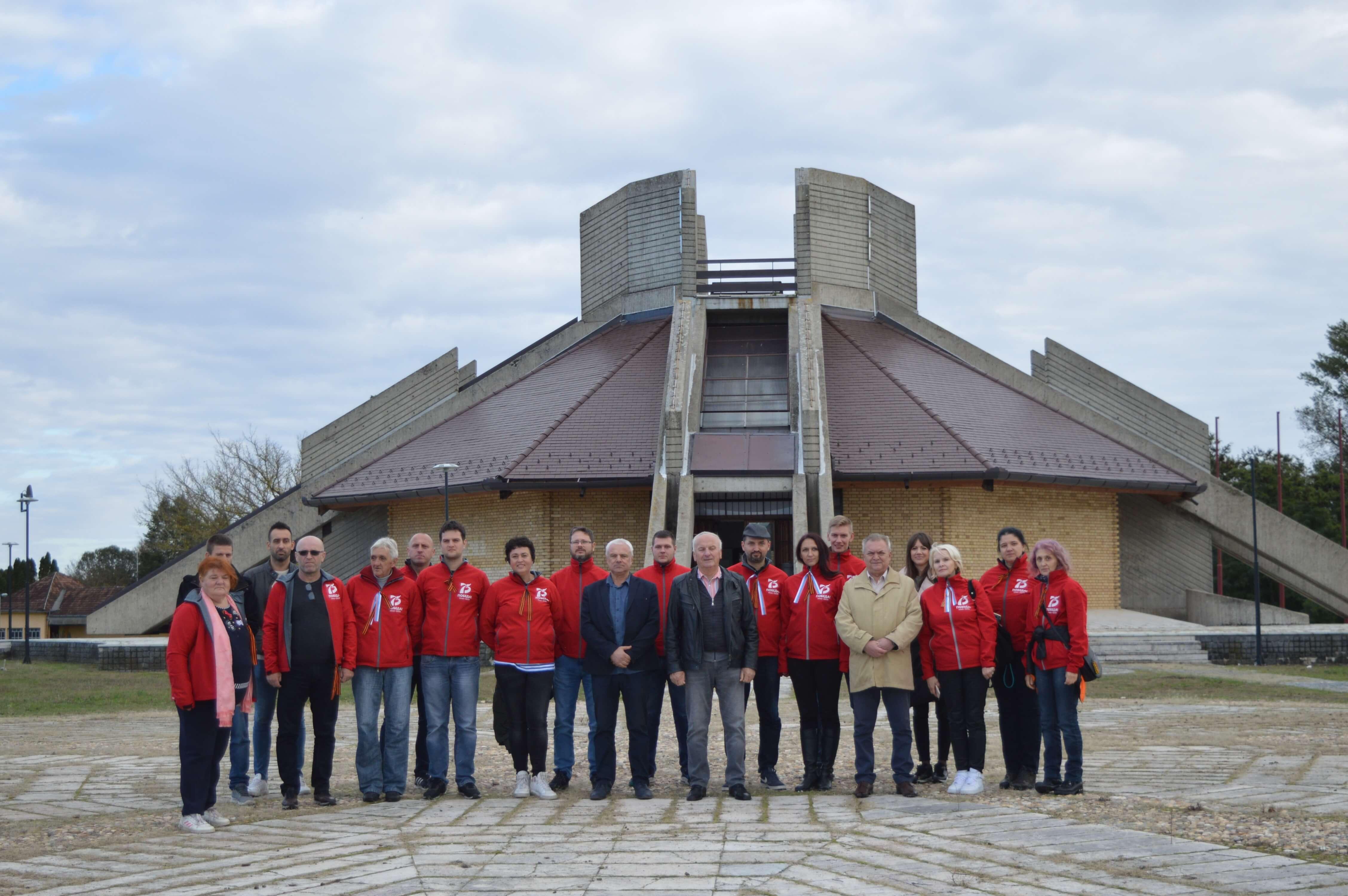 Посета Спомен музеју Батинске битке