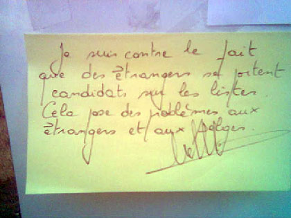 post-it d'opinion
