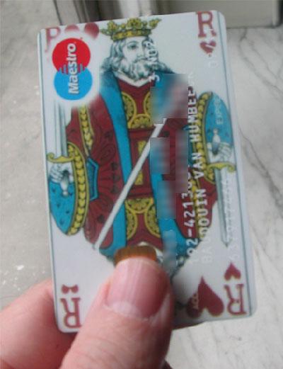 ma carte de banque