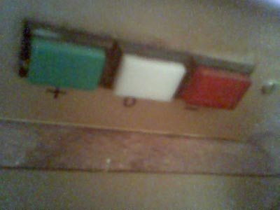 vert, blanc, rouge