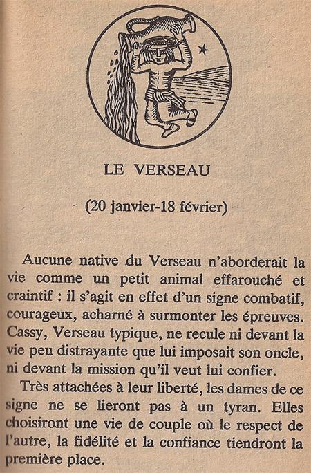 L'horoscope des Verseau