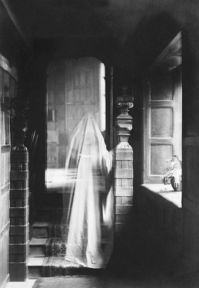 cas rare de ghosting visible