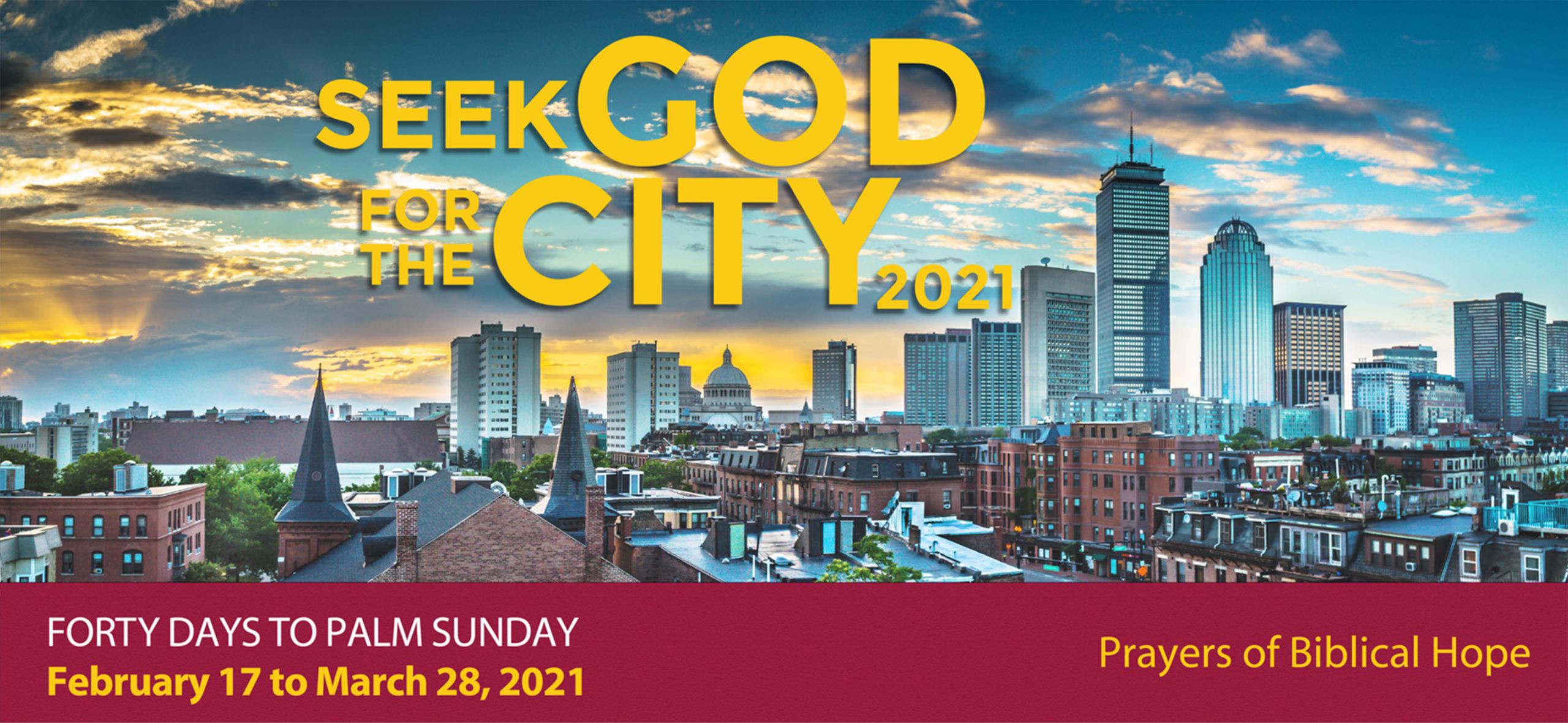 Seek God for the City