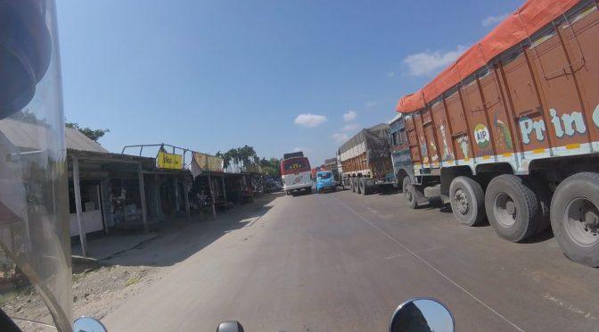 Indian Highway to Jaigaon