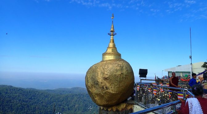 The Golden Rock, Death Railroad, Buddha Caves