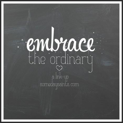 embrace the ordinarybutton