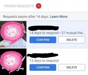 Tijdslimiet Facebook vriendschapsverzoek
