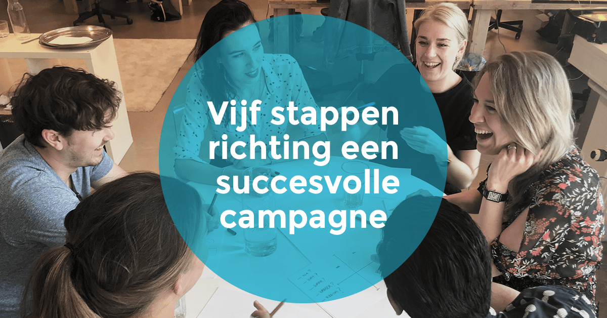 5 stappen richting een succesvolle social media campagne