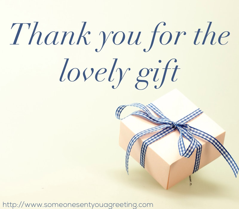 Thank You Notes For Birthday Gifts And Cards Someone Sent You A Greeting