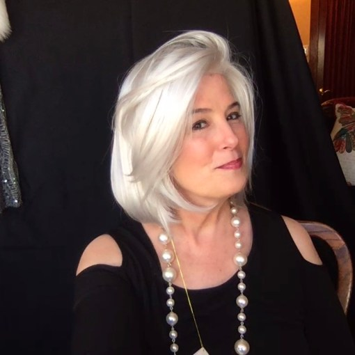 Silver Grey and White Hair