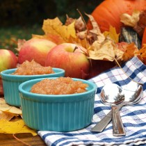 Homemade Autumn Applesauce