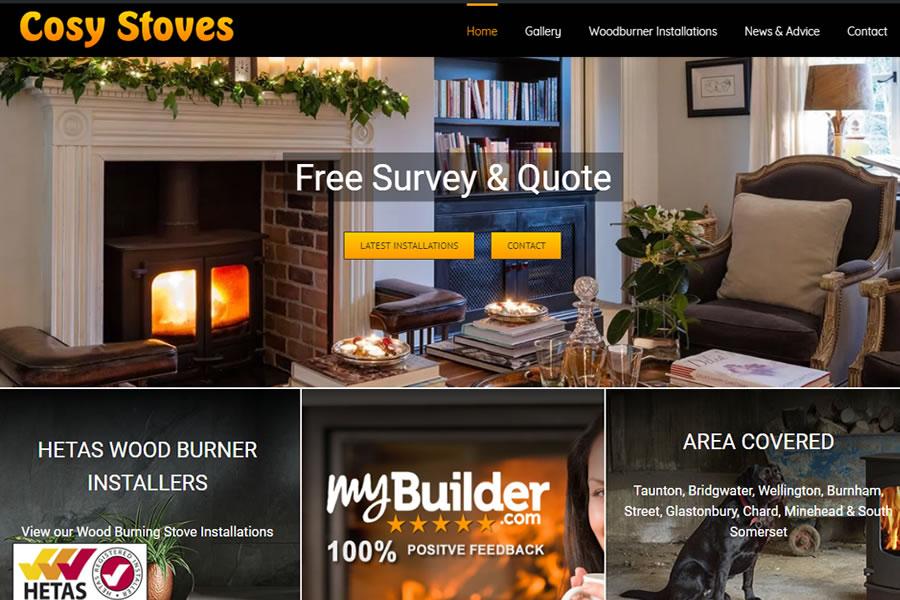 Woodburning Stove Website Designers