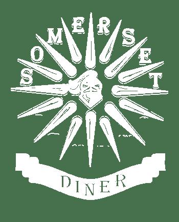 Somerset Diner Logo - white