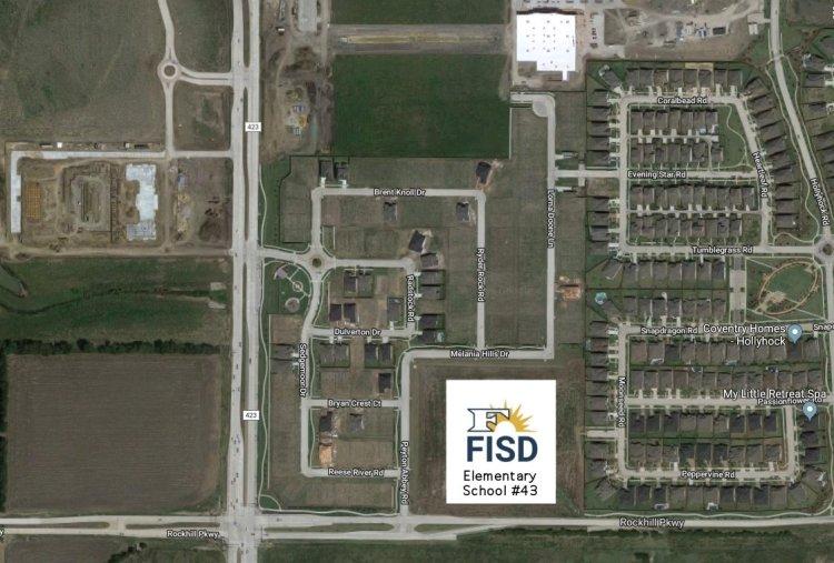 Frisco ISD Elementary School 43 site