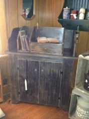 Primitive Dry Sink