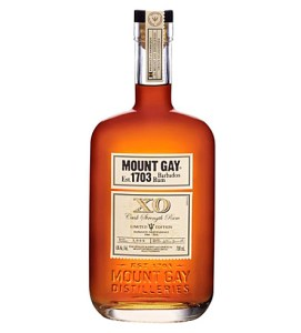 mount gay cask strength bottle