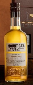 mount gay copper pot bottle