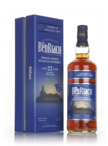benriach 22 year old moscatel wood finish whisky