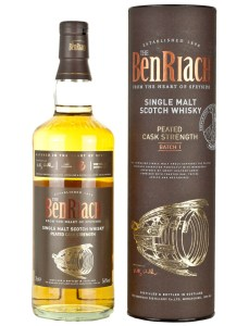 BenRiach Peated Cask Strength