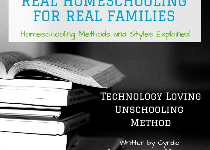 Technology Loving Unschooling Homeschooling Method {Real Homeschooling for Real Families}