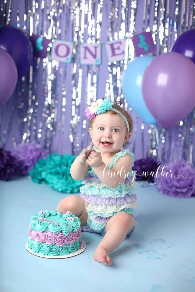 First Birthday Smash Cake Photography Session