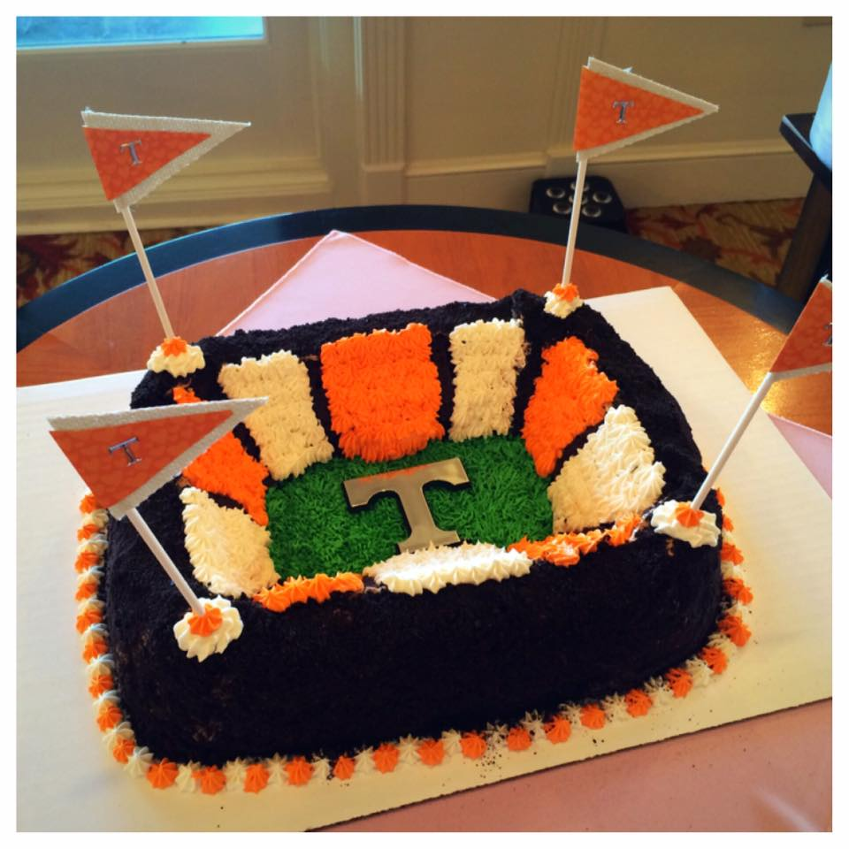 UT Stadium Groom's Cake