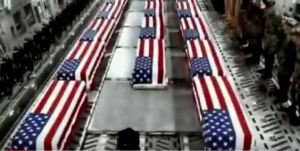Ask yourself why is it always your children never theirs that comes back lying dead beneath these shards of colored cloth? We're all to blame if we continue to blindly support these false flag wars.