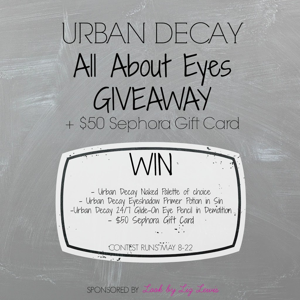 Urban Decay and Sephora Gift Card Giveaway!! | Something Gold ...