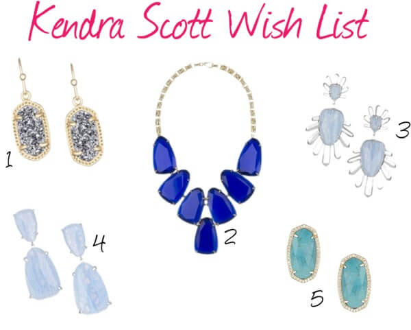 Kendra Scott Wish List