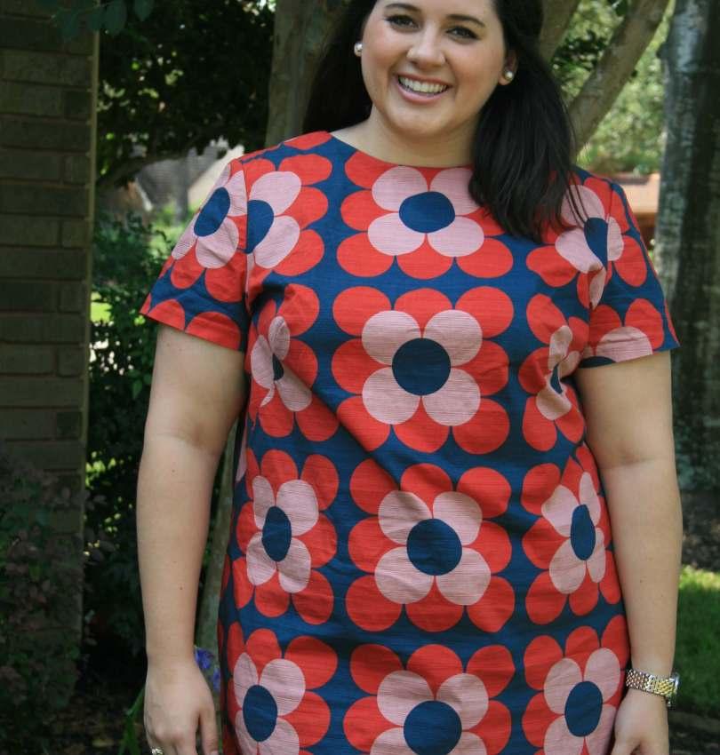 Boden Floral Shift Dress