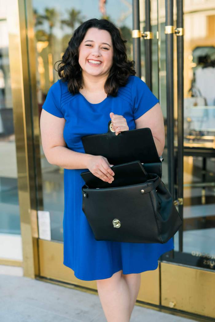 What to wear to work - Something Gold, Something Blue fashion blog - Business casual attire, what to wear to the office, JEMMA work bag, JEMMA bag, best work bag, best bag for travel