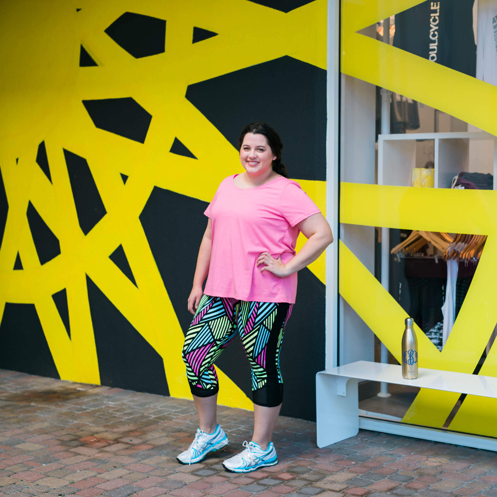 How to rock your first SoulCycle class, Something Gold, Something Blue fashion blog, How to survive first spin class, how to survive first SoulCycle class, Tips for spinning, tips for SoulCycle, Lane Bryant, Fabletics, Swell, Asics