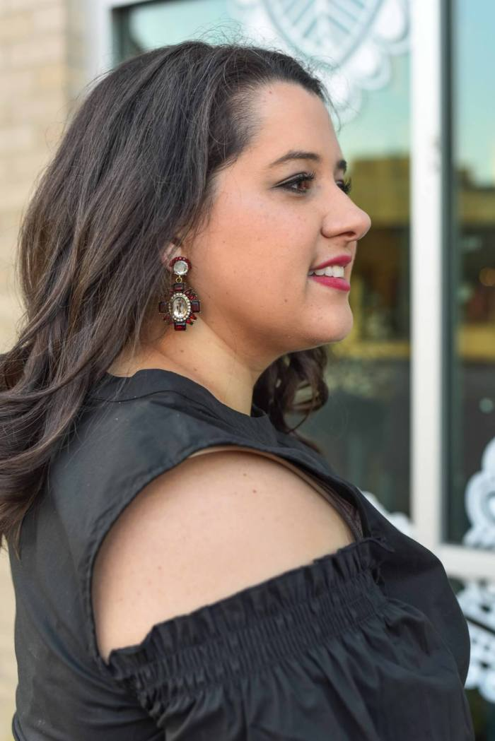 Can you believe holiday season is upon us? Emily Bastedo from curvy style blog, Something Gold, Something Blue is sharing some of her tips for dressing for work and for evening holiday parties in today's post.