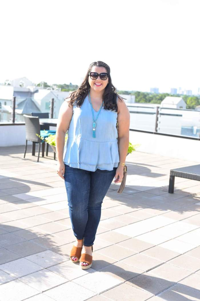 50 Shades of Blue + a Linkup