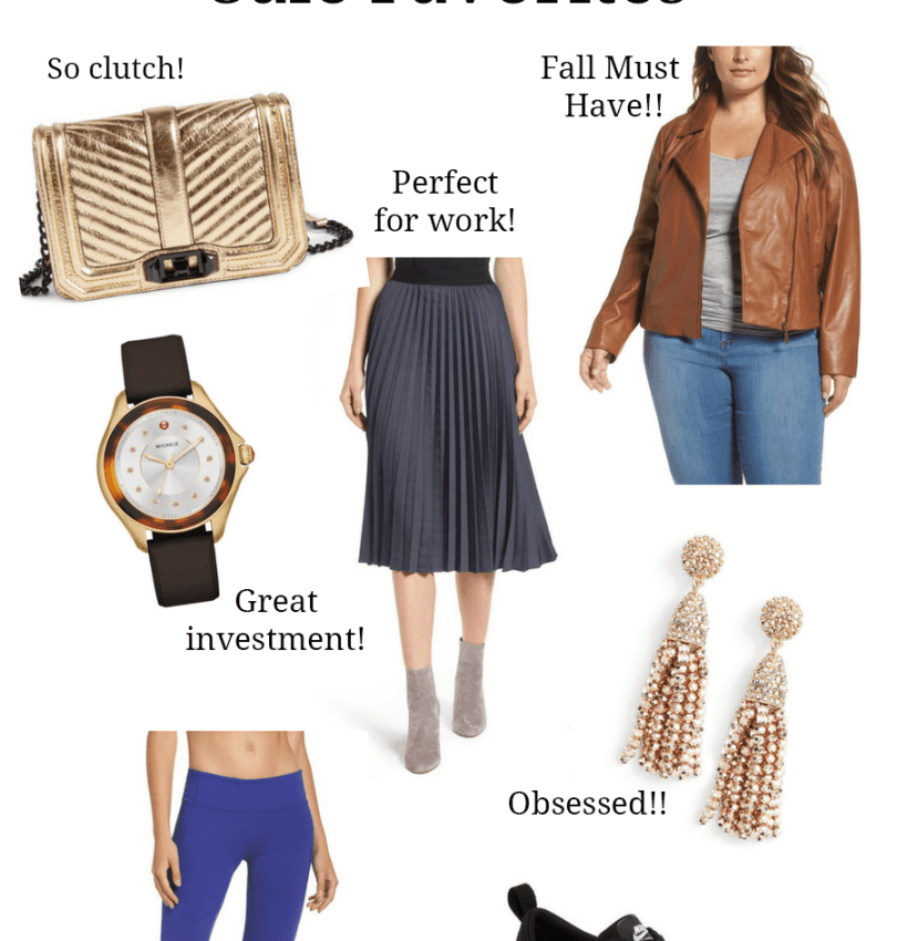 Nordstrom Anniversary Sale 2017 - Emily Bastedo from the curvy style blog Something Gold, Something Blue is sharing her favorite finds from the Nordstrom Anniversary Sale