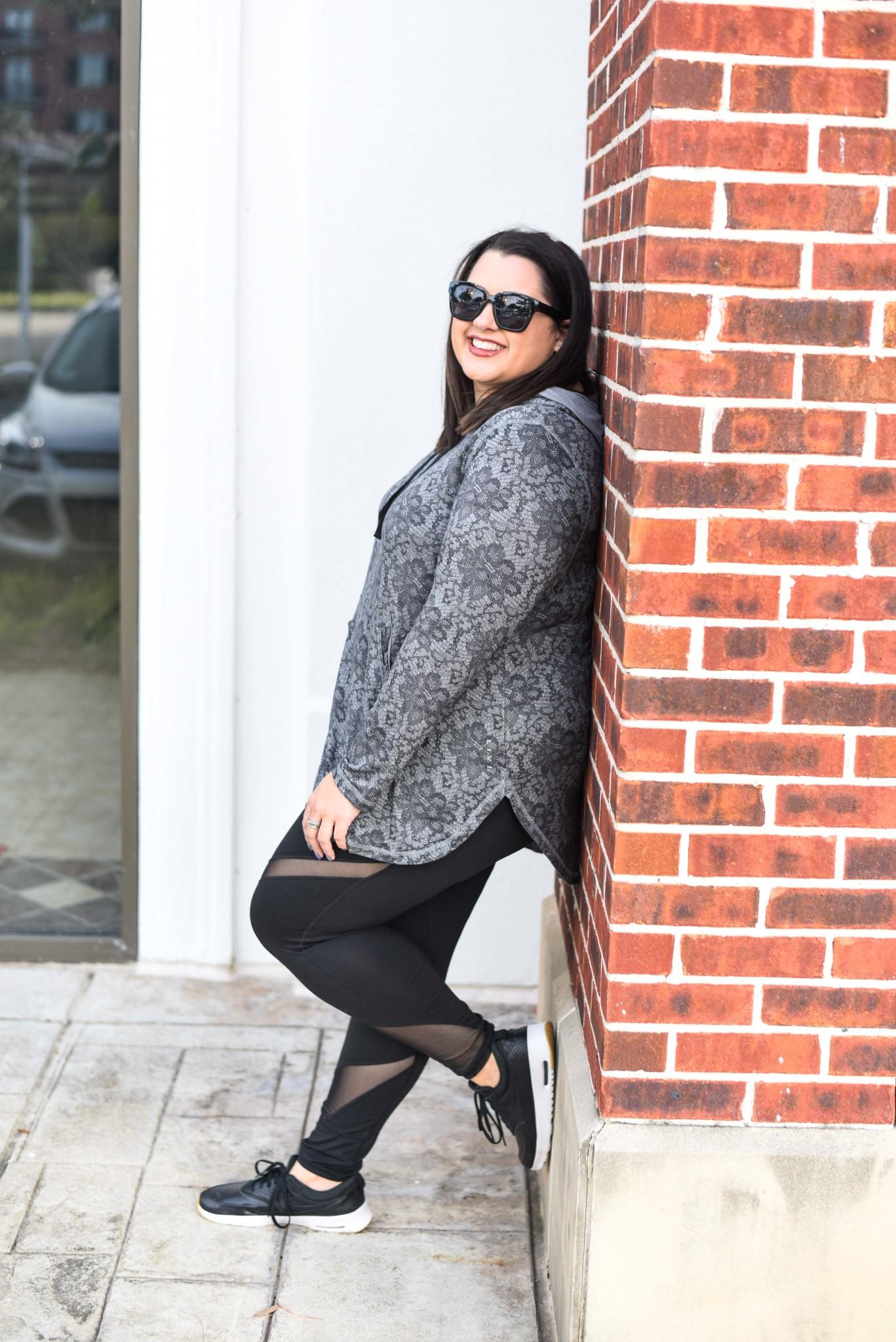 LIVI Activewear Hoodie on sale during Lane Bryant's Cyber Week Sale